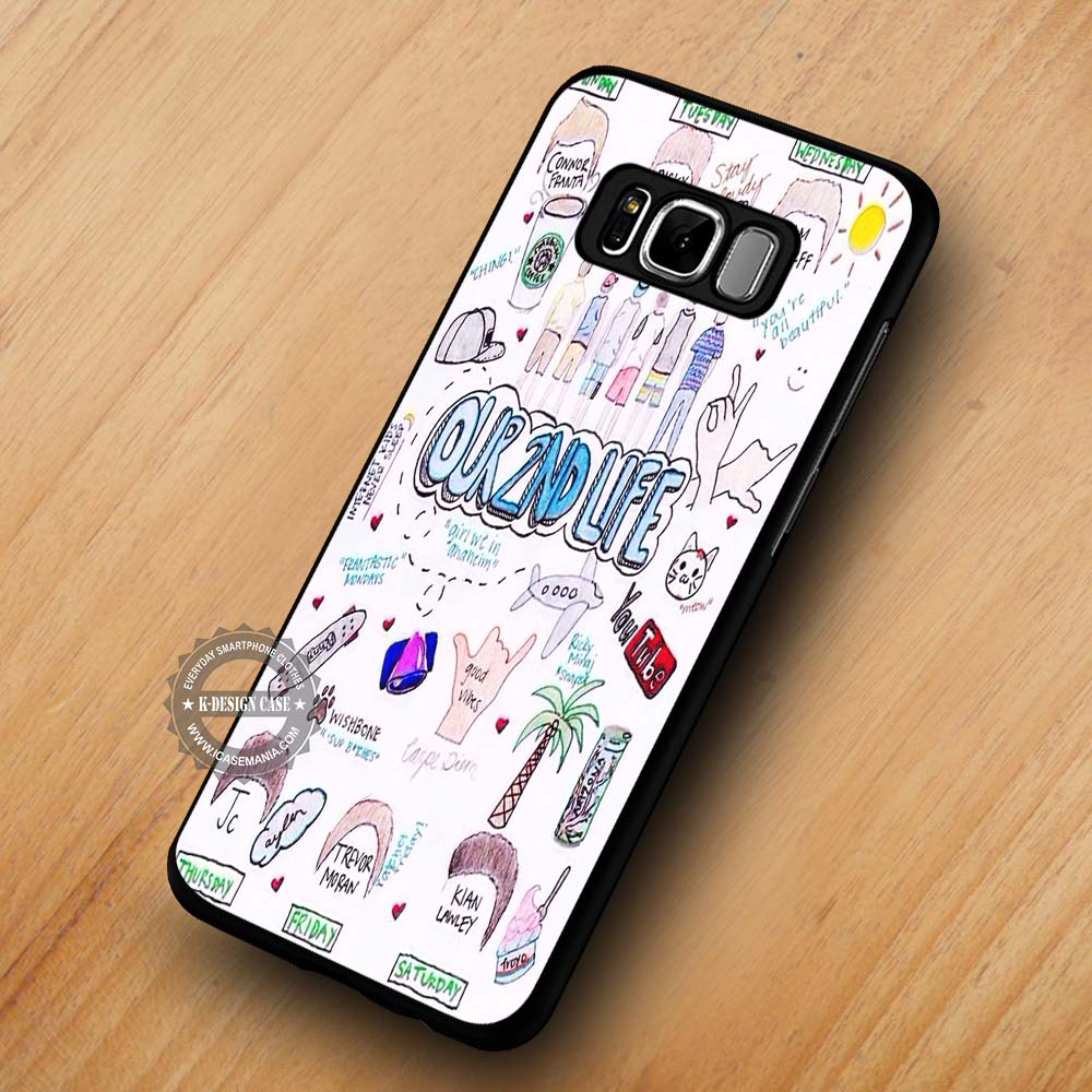 san francisco 3180b 73ca0 Our Second Life Art - Samsung Galaxy S8 S7 S6 Note 8 Cases & Covers  #SamsungS8