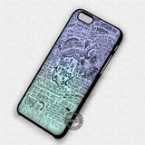 Collage Lyric Panic At The Disco - iPhone 7 6 Plus 5c 5s SE Cases & Covers