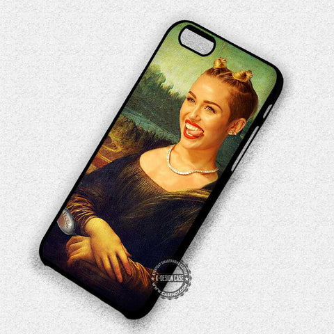 Painting Miley Cyrus - iPhone 7 6 Plus 5c 5s SE Cases & Covers
