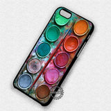 Watercolor Paint Set - iPhone 7 6 Plus 5c 5s SE Cases & Covers