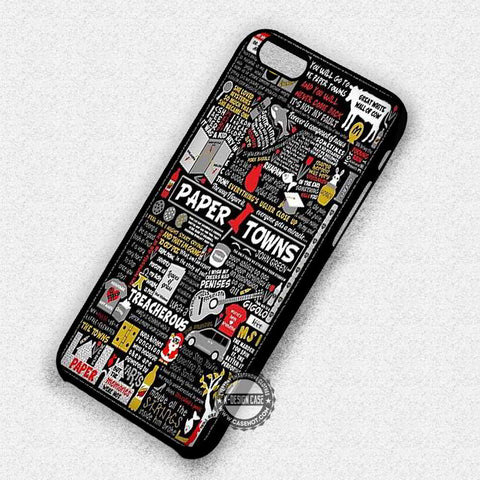 Paper Towns John Green - iPhone 7 6 Plus 5c 5s SE Cases & Covers