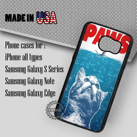 Paws Jaws Disney - Samsung Galaxy S7 S6 S5 Note 5 Cases & Covers