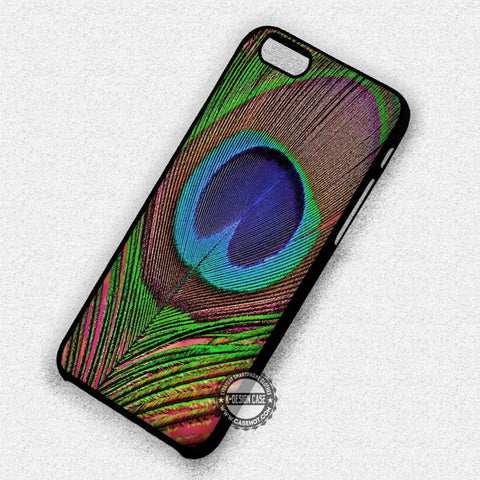 Peacock Feather Art - iPhone 7 6 Plus 5c 5s SE Cases & Covers