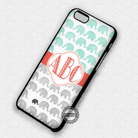 Personalized Elephant Pattern  - iPhone 7 Plus 6S 5 SE Cases & Covers