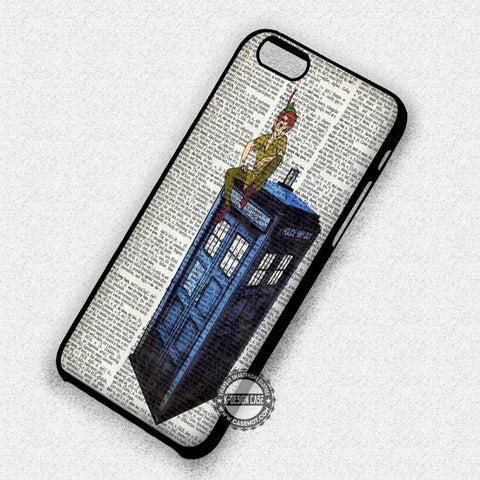 Peter Pan Tardis - iPhone 7 6 Plus 5c 5s SE Cases & Covers