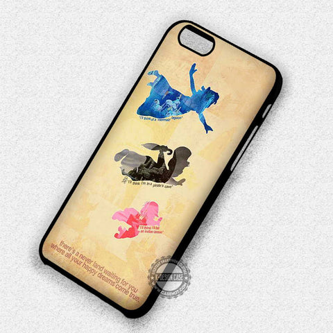 Peterpan and Neverland - iPhone 7 6 Plus 5c 5s SE Cases & Covers