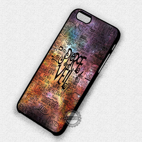 Pierce The Veil Galaxy- iPhone 7 6s 5 SE Cases & Covers