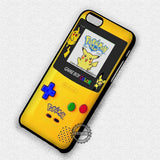 Pikachu Pokemon Gameboy - iPhone 7 6 Plus 5c 5s SE Cases & Covers