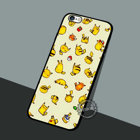 Pikachu and Raichu - iPhone 7 6 5 SE Cases & Covers