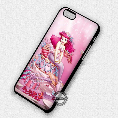 The Little Mermaid Pink  - iPhone 7 6 Plus 5c 5s SE Cases & Covers