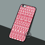 Pinky Geometic Tribal - iPhone 7 6 5 SE Cases & Covers