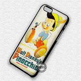 Pinocchio Vintage Poster - iPhone 7 6 Plus 5c 5s SE Cases & Covers