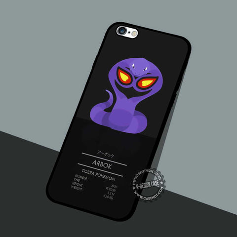 Arbok Cobra Pokemon - iPhone 7 6 5 SE Cases & Covers