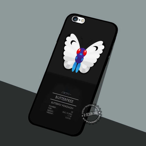 Butterfly Pokemon - iPhone 7 6 5 SE Cases & Covers