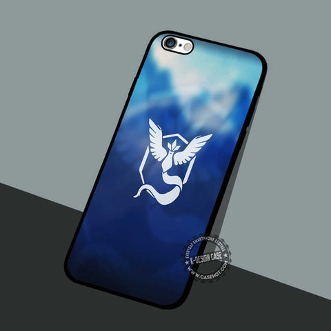 Mystic Team Blue - iPhone 7 6 5 SE Cases & Covers