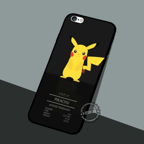 Pokemon Pikachu Mouse - iPhone 7 6 5 SE Cases & Covers