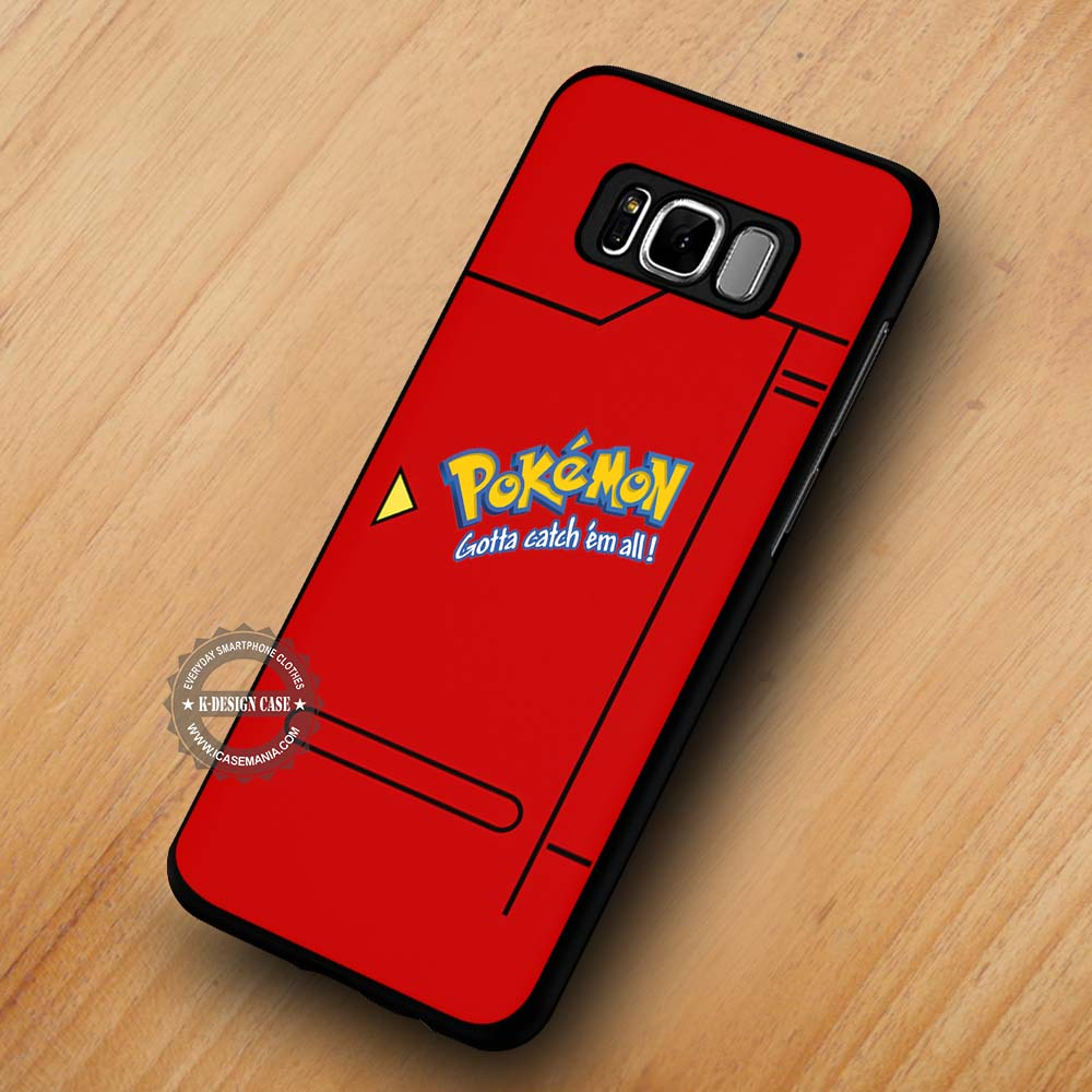 hot sales b9e80 af265 Pokemon Pokedex Anime Pokeball - Samsung Galaxy S8 S7 S6 Note 8 Cases &  Covers #SamsungS8