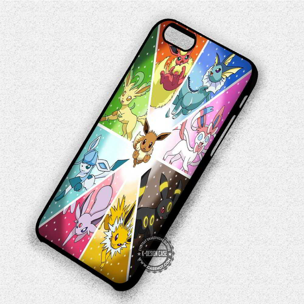new arrivals a7c8a 2e96f Pokemon X Y Eevee - iPhone 7 6 Plus 5c 5s SE Cases & Covers