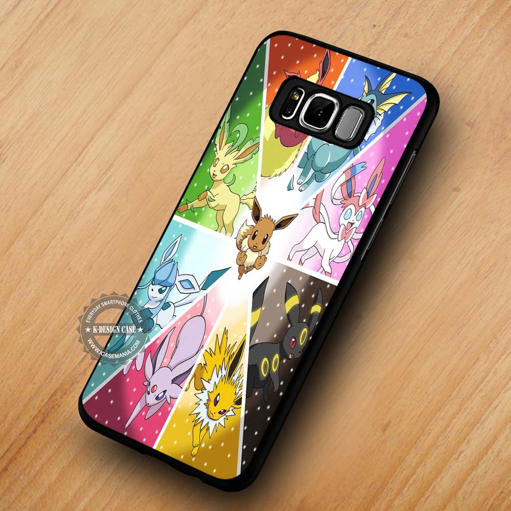 competitive price 5b7a1 407fb Pokemon X Y Eevee Evolution - Samsung Galaxy S8 S7 S6 Note 8 Cases & Covers  #SamsungS8