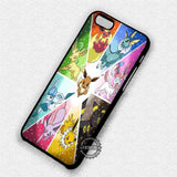 Pokemon X Y Eevee - iPhone 7 6 Plus 5c 5s SE Cases & Covers