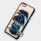 Police Box and Toothless - iPhone 7 6S SE 4S Cases & Covers