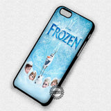 Poster Frozen Olaf- iPhone 7 6 Plus 5c 5s SE Cases & Covers