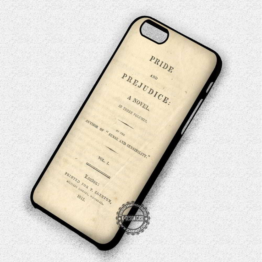 new arrival 63b64 efaee Pride and Prejudice Novel - iPhone 7 6 Plus 5c 5s SE Cases & Covers