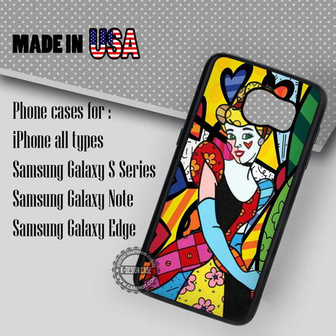 Princess Art Disney - Samsung Galaxy S7 S6 S5 Note 5 Cases & Covers