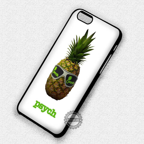 Psych with glasses - iPhone X 8+ 7 6s SE Cases & Covers
