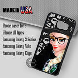 Punk Princess Frozen - Samsung Galaxy S7 S6 S5 Note 5 Cases & Covers
