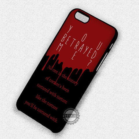 Quote Tortured from Crowley - iPhone 7 Plus 6 5S SE 4 Cases & Covers