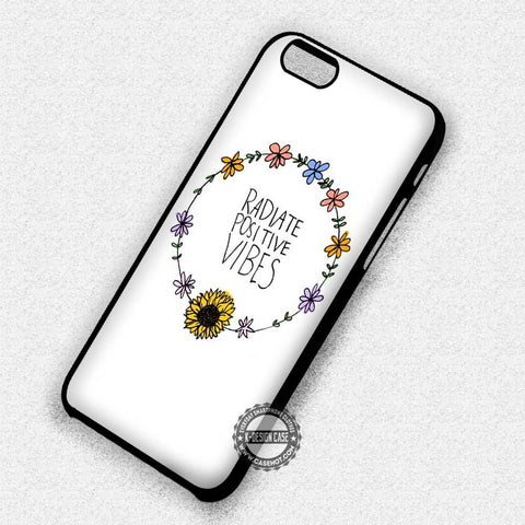 Radiate Positive Vibes - iPhone 7 6 Plus 5c 5s SE Cases & Covers