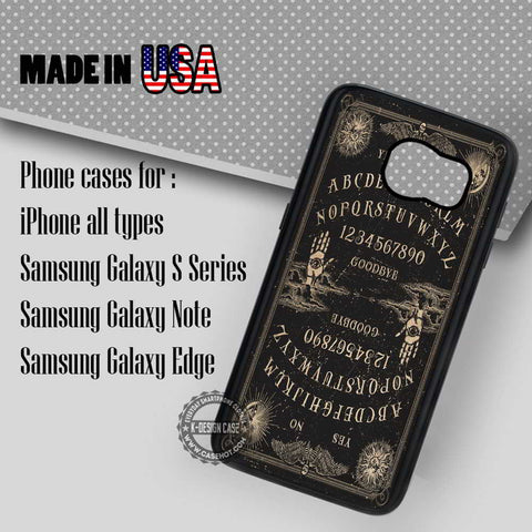 Retro Ouija Board - Samsung Galaxy S7 S6 S5 Note 5 Cases & Covers