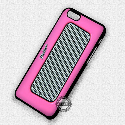 Pink Retro Radio - iPhone 7 6 Plus 5c 5s SE Cases & Covers