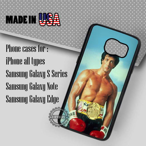 Rocky Balboa Vintage - Samsung Galaxy S7 S6 S5 Note 5 Cases & Covers