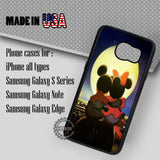 Romantic Mickey Minnie - Samsung Galaxy S7 S6 S5 Note 5 Cases & Covers