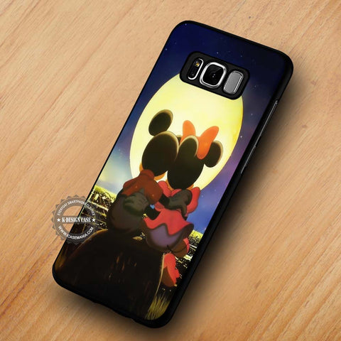 Romantic Mickey Minnie Mouse - Samsung Galaxy S8 Case
