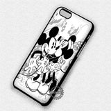Romantic Kiss Mickey Mouse - iPhone X 8+ 7 6s SE Cases & Covers