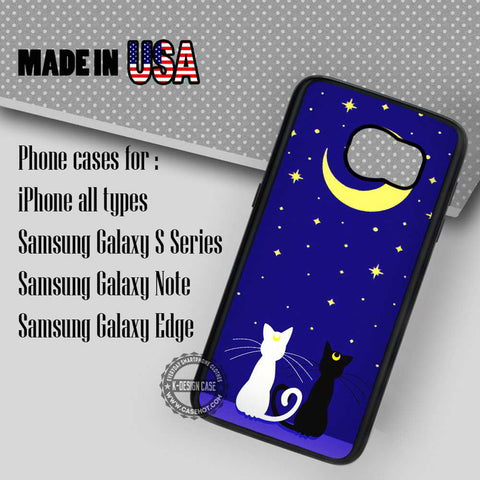 Sailor Moon Cute - Samsung Galaxy S7 S6 S5 Note 5 Cases & Covers