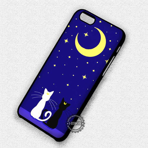 Sailor Moon Inspired Luna - iPhone 7 6 Plus 5c 5s SE Cases & Covers