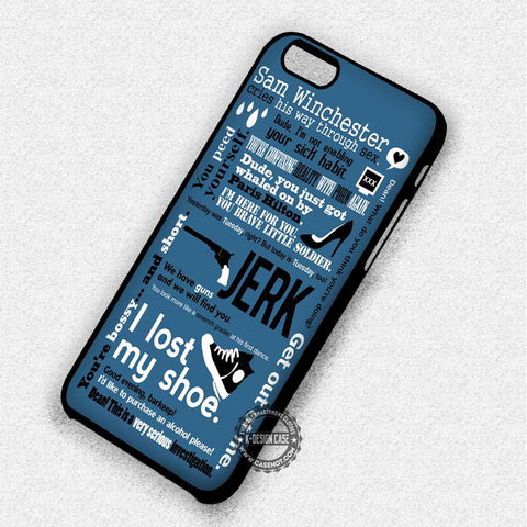 Sam Winchester Supernatural - iPhone 7 6 Plus 5c 5s SE Cases & Covers