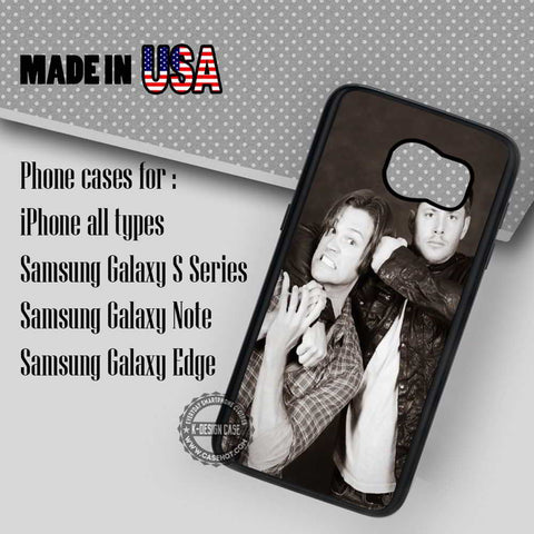 Sam and Dean Winchester - Samsung Galaxy S7 S6 S5 Note 5 Cases & Covers