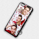 Santa Hat Cameron Dallas - iPhone 7 6 Plus 5c 5s SE Cases & Covers
