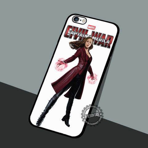 Scarlet Witch Civil War - iPhone 7 6 Plus Cases & Covers