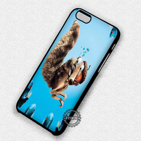 Scart Under The Sea Fish Ice Age - iPhone 7+ 6S 5 SE Cases & Covers