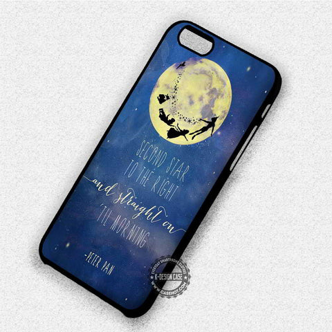 Peter Pan Quote - iPhone 7 6 Plus 5c 5s SE Cases & Covers