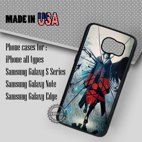 Sharingan Sasuke Naruto - Samsung Galaxy S7 S6 S5 Note 5 Cases & Covers