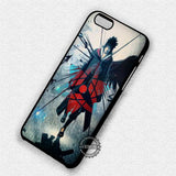 Sharingan Sasuke Naruto - iPhone 7 6 Plus 5c 5s SE Cases & Covers