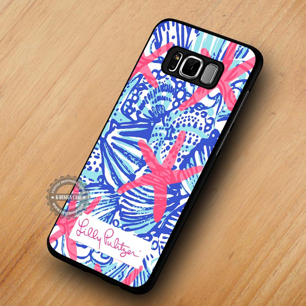buy popular 6804f c4a29 She She Shells Lilly Pulitzer Pattern - Samsung Galaxy S8 S7 S6 Note 8  Cases & Covers #SamsungS8