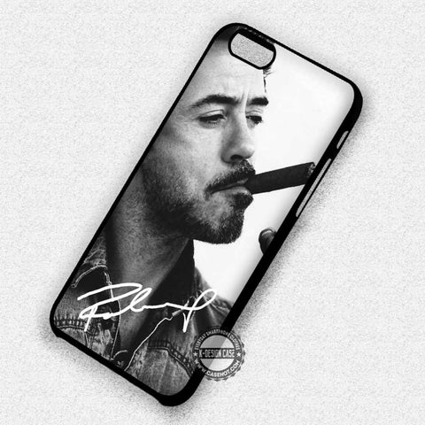 Signature Robert Downey  - iPhone 8+ 7 6s SE Cases & Covers